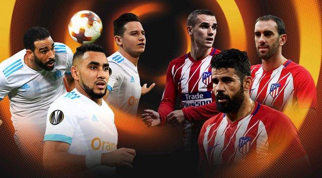 Марсель – Атлетико: где смотреть онлайн финала Лиги Европы 2017/18