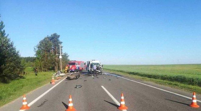 В Білорусі розбився автобус з українською дитячою командою, одна дитина загинула