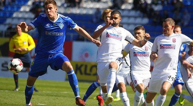Динамо мінімально перемогло Зорю завдяки голу Вербіча