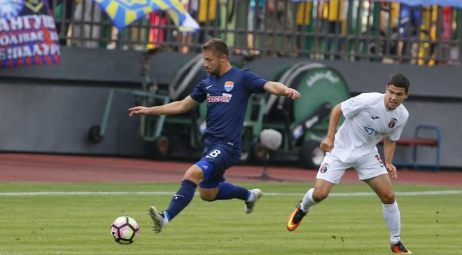 Верес та Маріуполь зіграють на стадіоні Україна