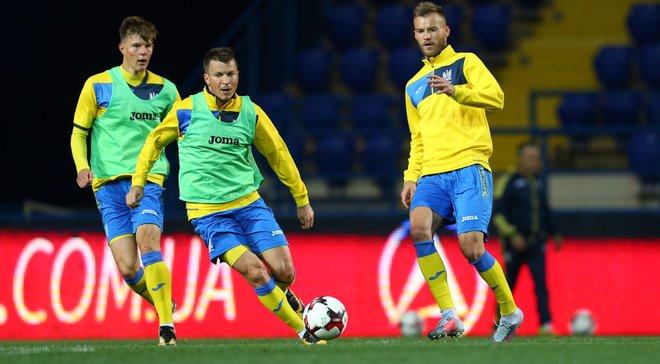 Шевченко викликав 25 футболістів у збірну України на найближчий збір
