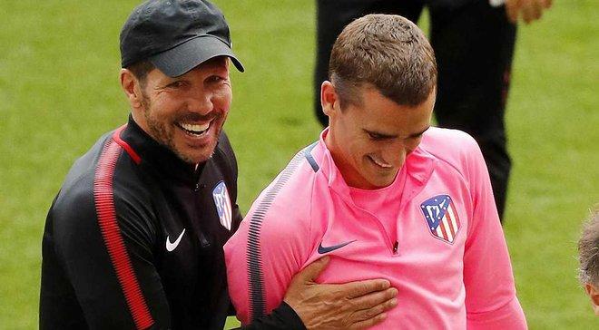 Грізманн: Робота Сімеоне в Атлетіко – це те ж саме, що Фергюсон робив у Манчестер Юнайтед