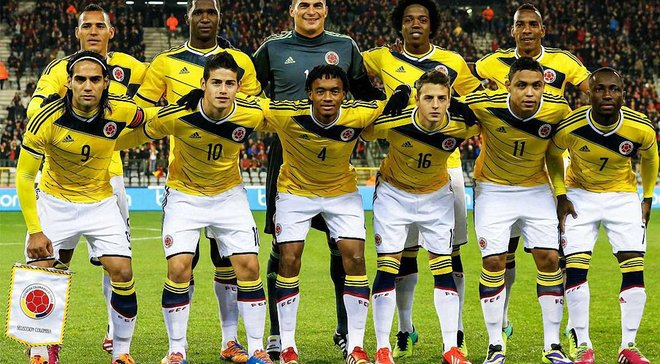ЧС-2018: збірна Колумбії назвала розширену заявку на турнір