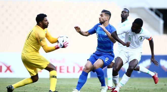 Саудівська Аравія здолала Грецію у товариському матчі