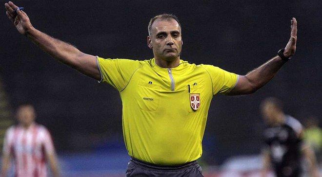 Арбитр в Сербии был арестован после матча за назначения 2-х пенальти и удаление