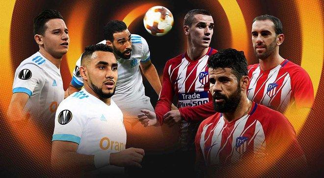 Марсель – Атлетіко: стартові склади команд за версією Marca