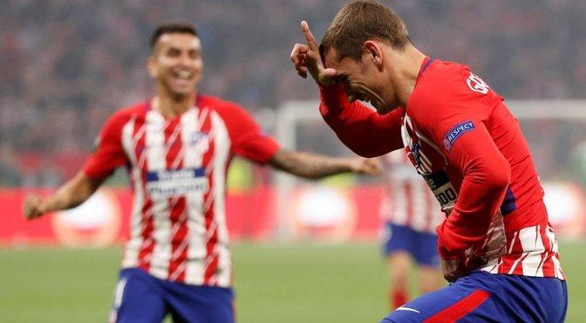 Атлетіко розгромив Марсель у фіналі Ліги Європи