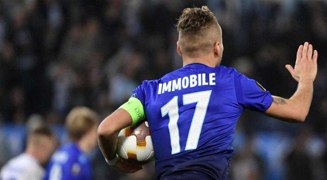 Иммобиле – лучший бомбардир Лиги Европы 2017/18, Мораес – в тройке