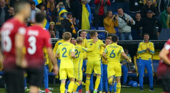 Україна зберегла позиції в оновленому рейтингу ФІФА