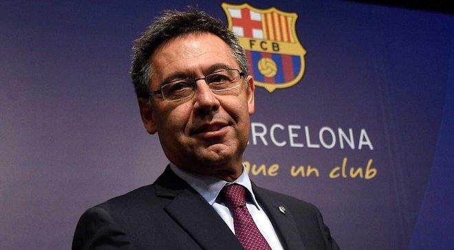 Бартомеу: Деякі люди хочуть зменшити значущість досягнень Барселони