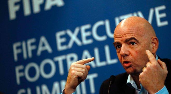 Президент ФІФА Інфантіно привітав Шахтар з чемпіонством в УПЛ