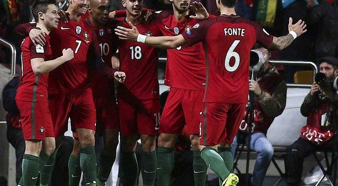 Збірна Португалії оголосила склад на ЧС-2018