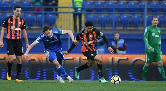 Динамо – Шахтер: прямая онлайн-трансляция матча