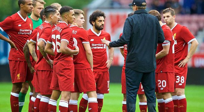 Ливерпуль готовится к финалу Лиги чемпионов за высоким забором