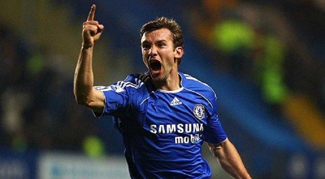 Шевченко зіграє за Челсі у матчі легенд