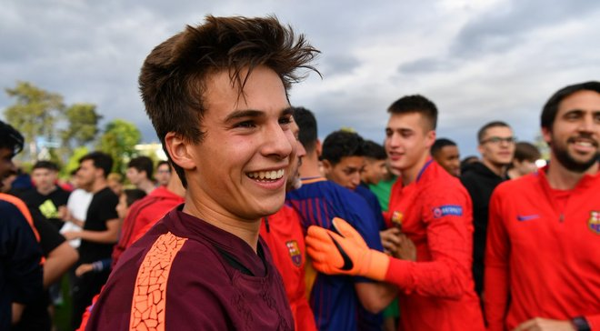Тоттенхэм может подписать талантливого воспитанника Барселоны