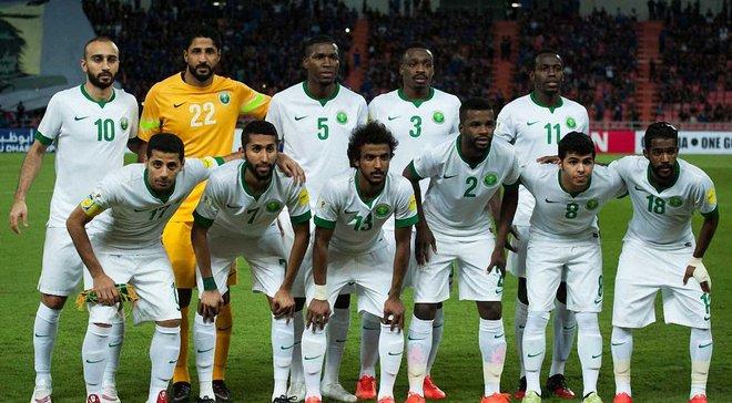 ЧС-2018: збірна Саудівської Аравії назвала розширену заявку на турнір
