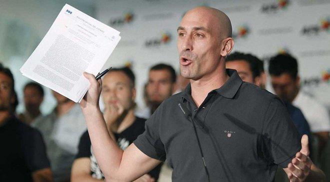 Рубіалес очолив Федерацію футболу Іспанії