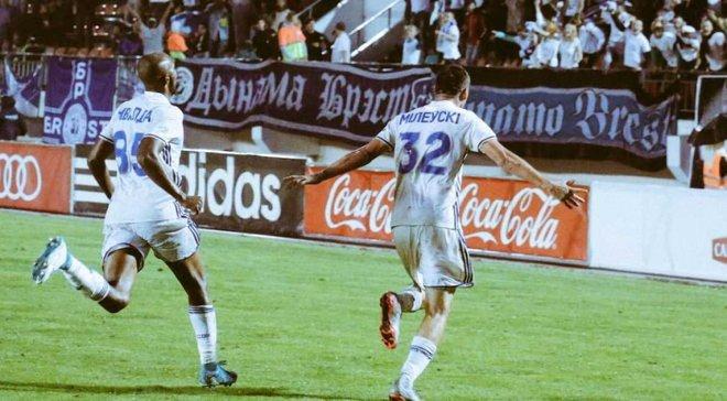 Динамо Брест Милевского вырвало победу у БАТЭ и стало обладателем Кубка Беларуси, украинец забил гол