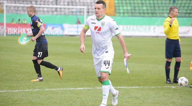Федецкий провел 100-ый матч за Карпаты