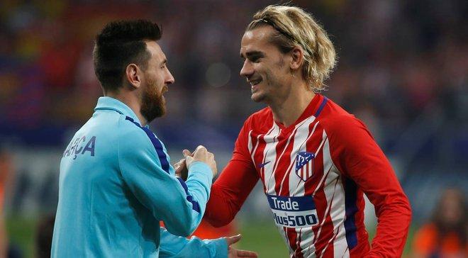 Месси позвонил Гризманну, чтобы попросить француза о трансфере в Барселону