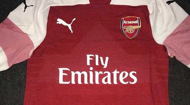 В сети появились фото и видео новой формы Арсенала