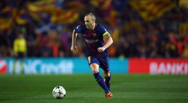 Иньеста получил шедевральные проводы от фанатов Барселоны в последнем матче за клуб