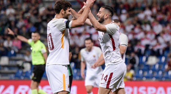 Сассуоло – Рома – 0:1 – відео гола та огляд матчу