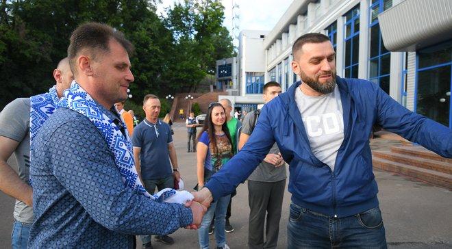 Динамо – Шахтар  Бійці АТО відвідали матч - Футбол 24 b5902d15eb5c8