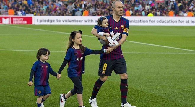 Іньєста довів до сліз гравців Барселони своєю прощальною промовою