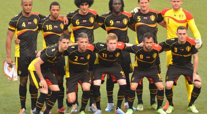 ЧМ-2018: Бельгия обнародовала расширенную заявку на турнир