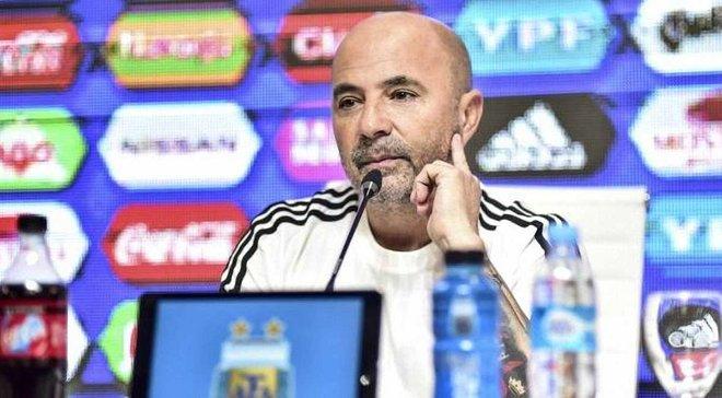 ЧС-2018: Сампаолі пояснив, чому Ікарді, Гомес та інші не потрапили в остаточну заявку Аргентини