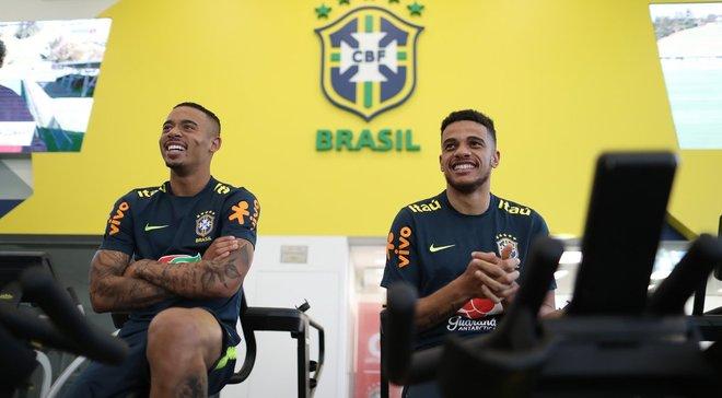 Фред и Тайсон прибыли в расположение сборной Бразилии