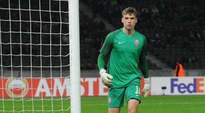 Лунин – лучший игрок U-19 в апреле по версии Золотого таланта
