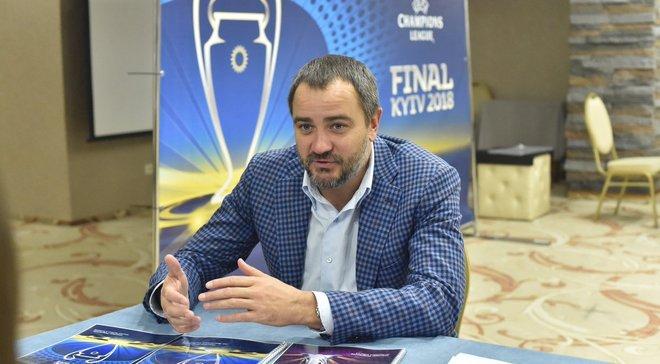 Павелко – про боротьбу з договірними матчами: Це історичний день для українського футболу