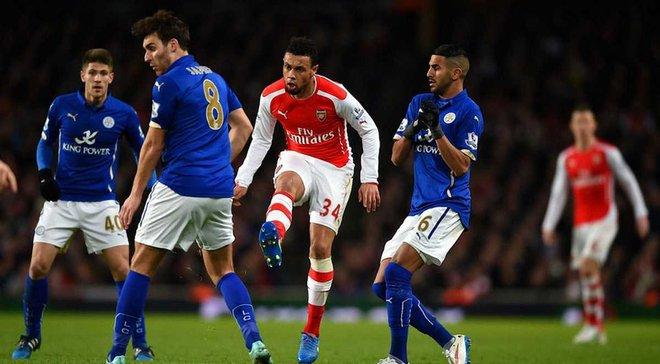 Арсенал оштрафований за поведінку гравців у матчі проти Лестера