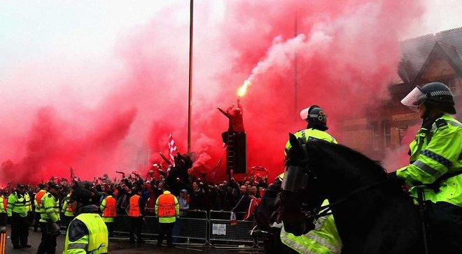 Рома та Ліверпуль можуть бути оштрафовані через поведінку фанатів