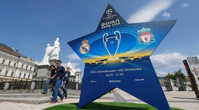 Фінал Ліги чемпіонів 2018: повна програма заходів в Києві 24-27 травня