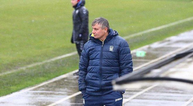 Сборная Украины U-15 сыграла вничью с Чехией