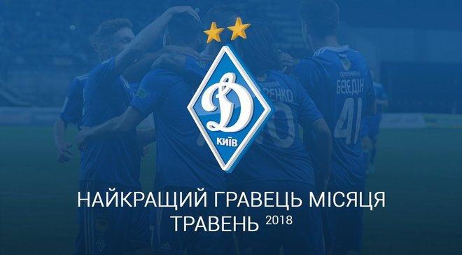 Динамо проводить голосування на найкращого гравця в травні