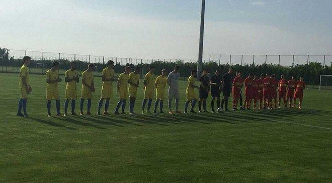 Сборная Украины U-16 вышла в финал турнира в Сербии