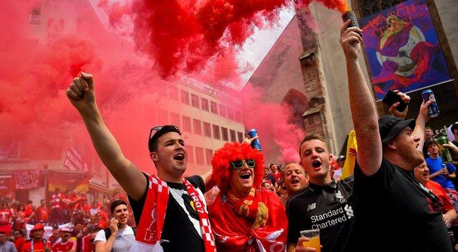 Реал – Ліверпуль: частина англійських фанатів вже вилетіла до України