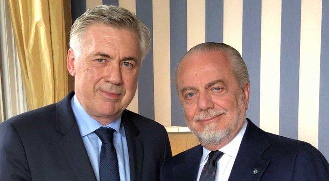 Анчелотти официально возглавил Наполи