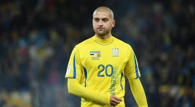 Ракицький покинув розташування збірної України, замість нього викликали Лук'янчука