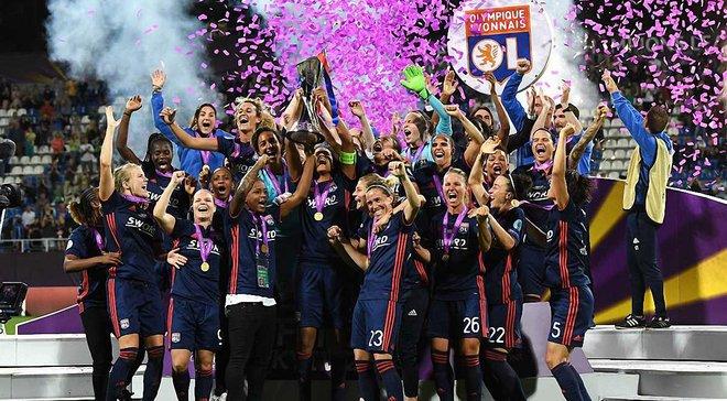 Ліон розгромив Вольфсбург у фіналі жіночої Ліги чемпіонів у Києві