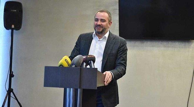 Павелко: Побудуємо тренувальний центр для збірної України