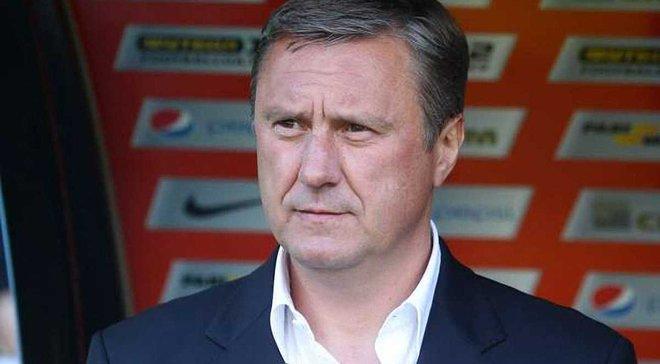 Хацкевич: В майбутньому я не бачу Самбрано гравцем Динамо