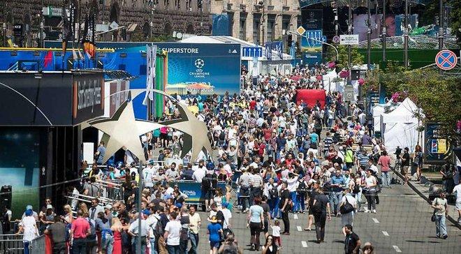 Финал Лиги чемпионов в Киеве: полиция открыла уголовное производство по факту избиения фанатов Ливерпуля