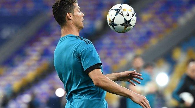 Реал – Ліверпуль: Роналду розбив брову оператору на НСК Олімпійський та красиво вибачився