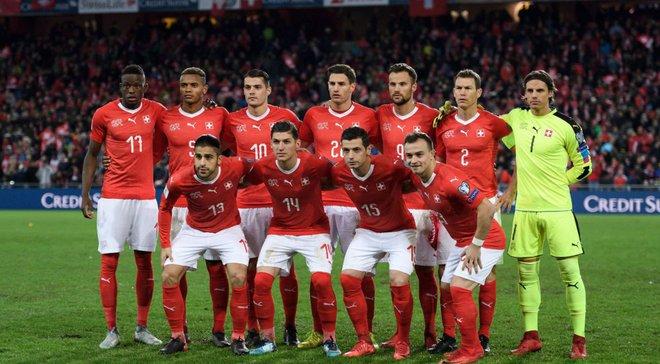 ЧМ-2018: Швейцария обнародовала расширенную заявку